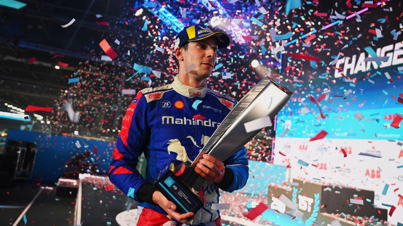 Alex Lynn 2021 Formula E London EPrix Winner