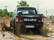 BS6 Isuzu D Max V Cross Mud Slide Rear
