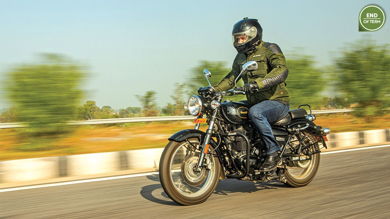 Benelli Imperiale 400 Long Term Report November 20202