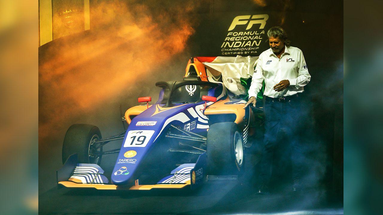 Formula Regional Indian Championship Launch With Kapil Dev