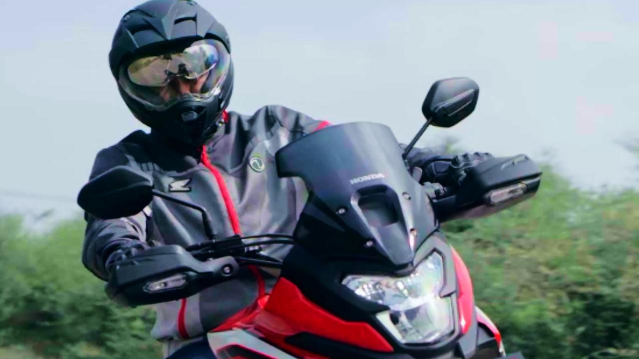 Honda NX200 Teaser