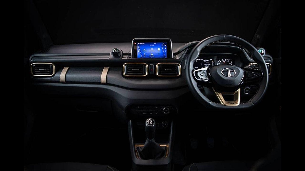 Tata Punch Dashboard Details