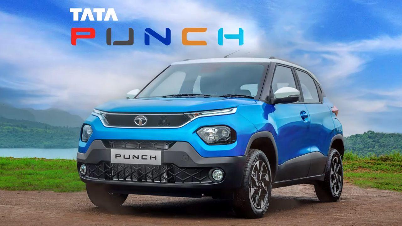 Tata Punch Production Spec HBX Concept