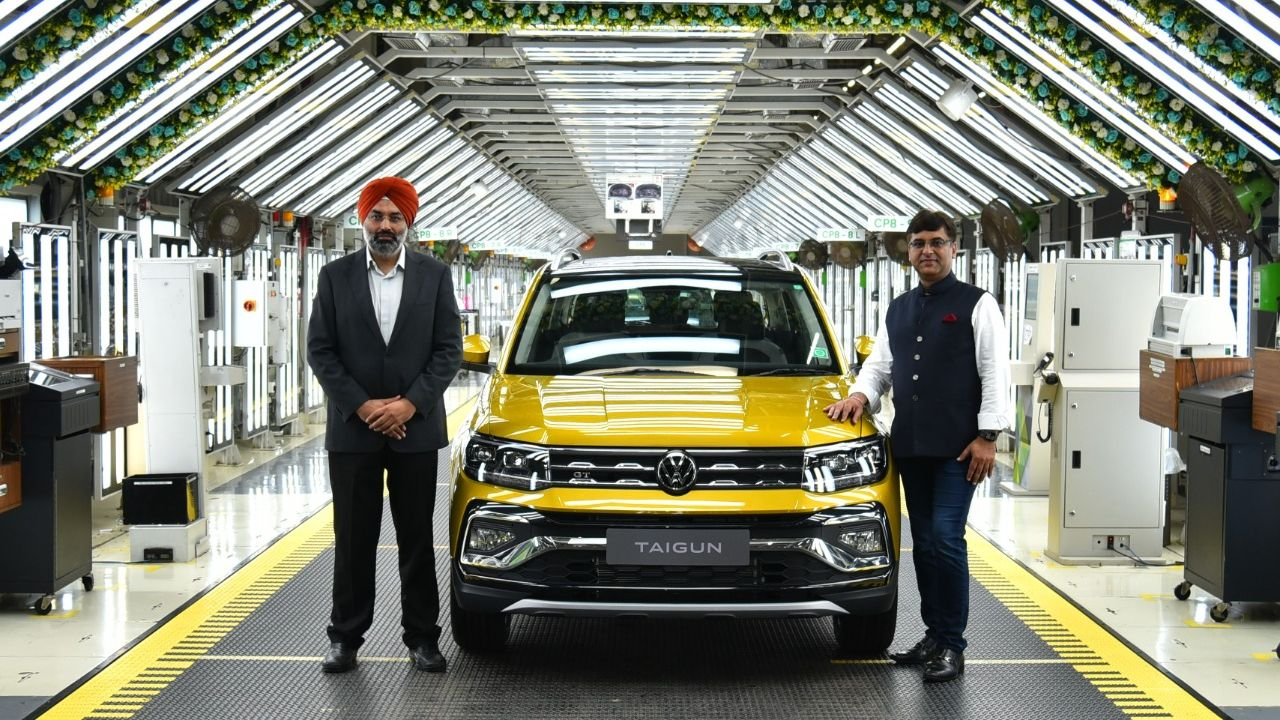 Volkswagen Taigun Production Commenced On Assembly Line