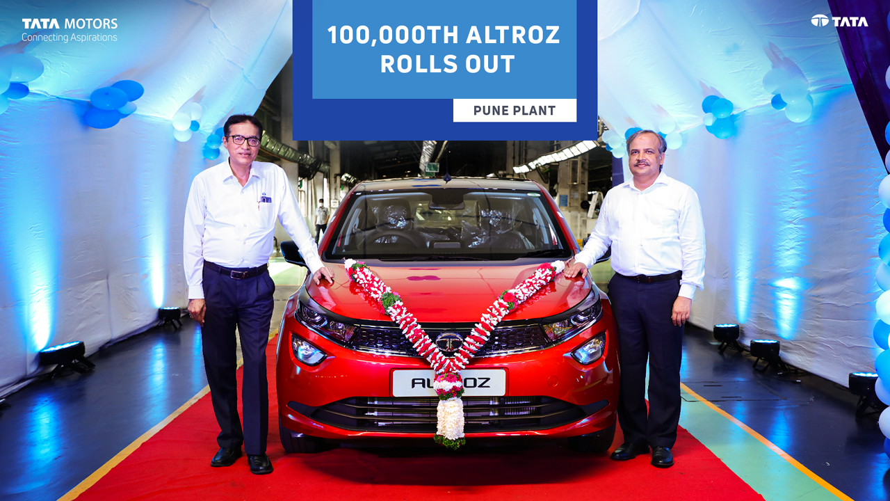 1 00 000th Tata Altroz