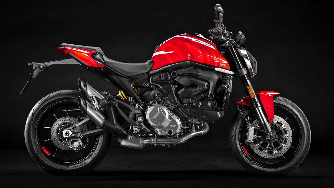 2021 Ducati Monster Profile View