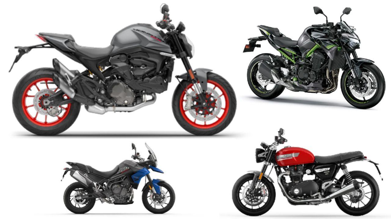2021 Ducati Monster Side Profile Static