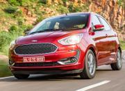 2021 Ford Figo AT Front Quarter Motion 2