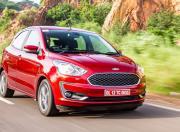 2021 Ford Figo AT Front Quarter Motion 3