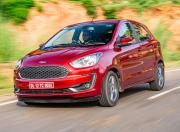 2021 Ford Figo AT Front Quarter Motion1