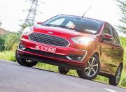 2021 Ford Figo AT Static Front Quarter