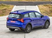 2021 Mahindra XUV700 rear three quarter