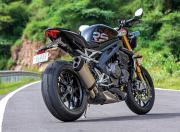2021 Triumph Speed Triple RS Rear Quarter Static1