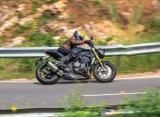 2021 Triumph Speed Triple RS Side View Motion1