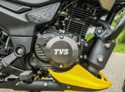 2021 tvs raider 125 first ride review engine m1