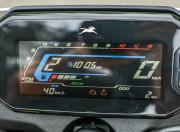 2021 tvs raider 125 first ride review speedo display m1