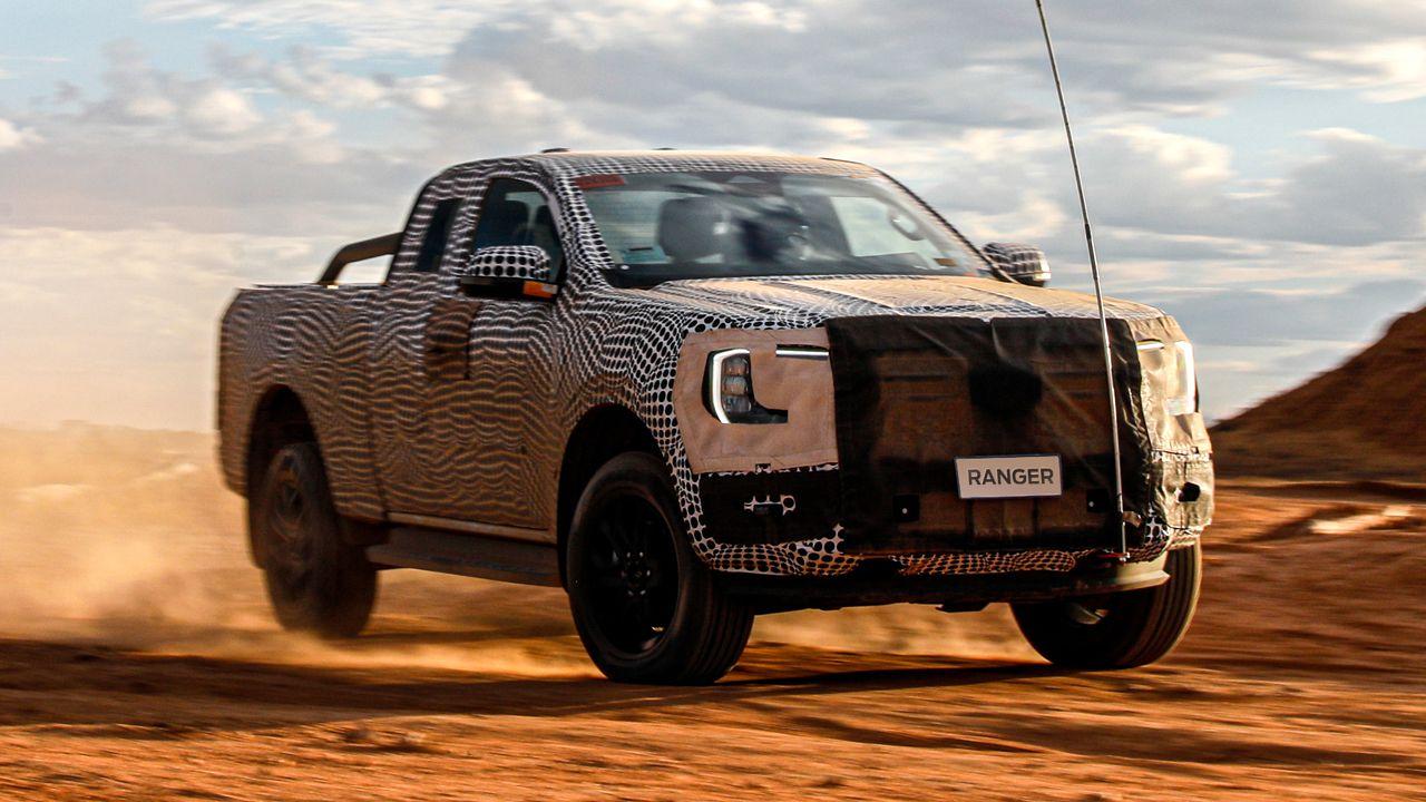 2022 Ford Ranger Teased