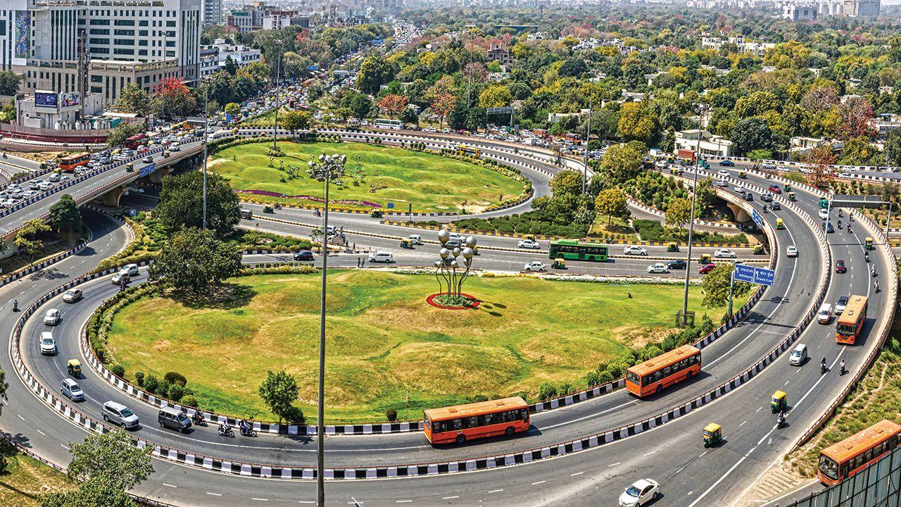 AIIMS Grade Separator New Delhi
