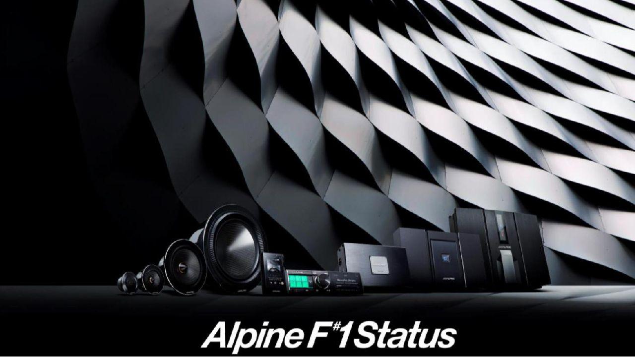 Alpine F 1 Status Audiso System