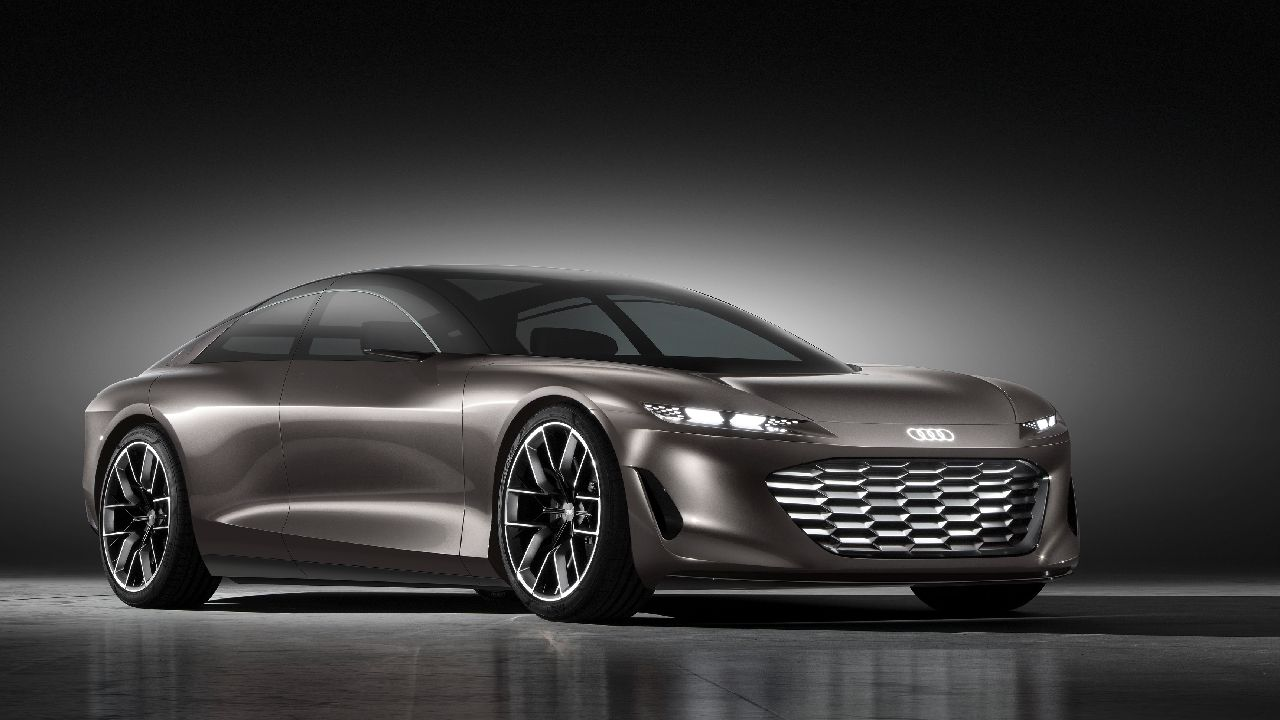 Audi Grandsphere Concept Front Three Quarter Static