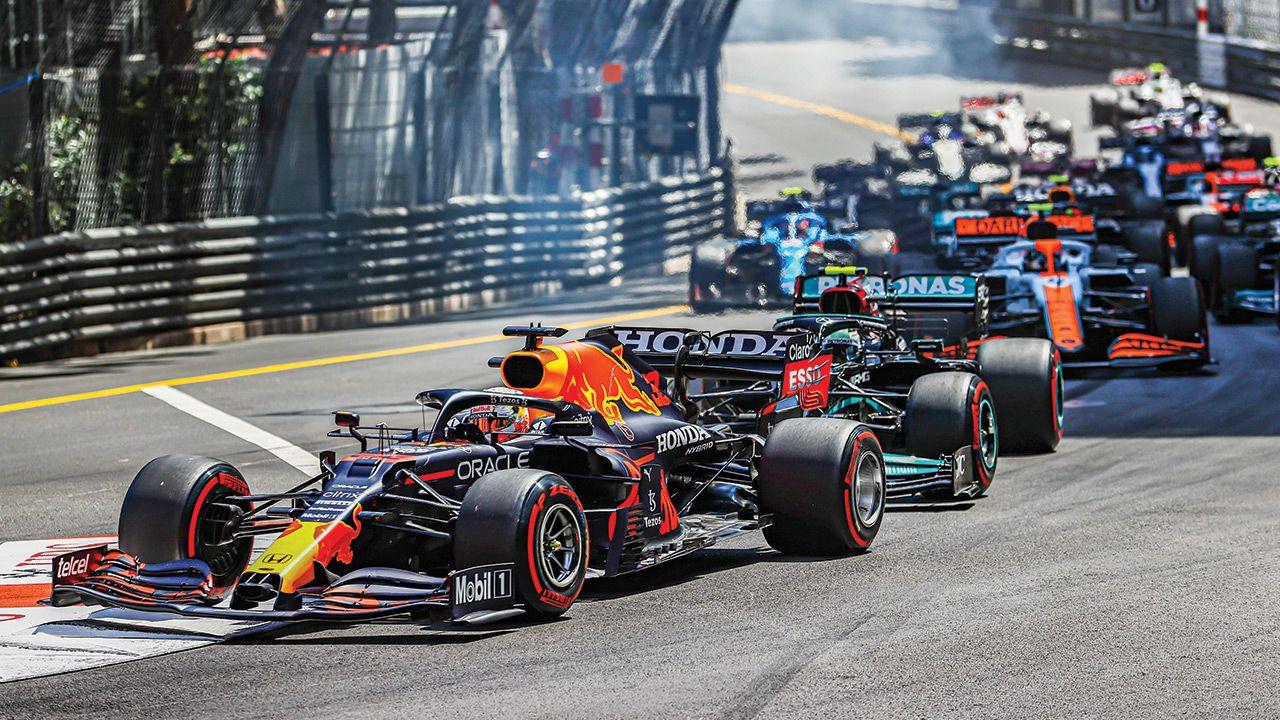 F1 Monaco GP 1st Corner