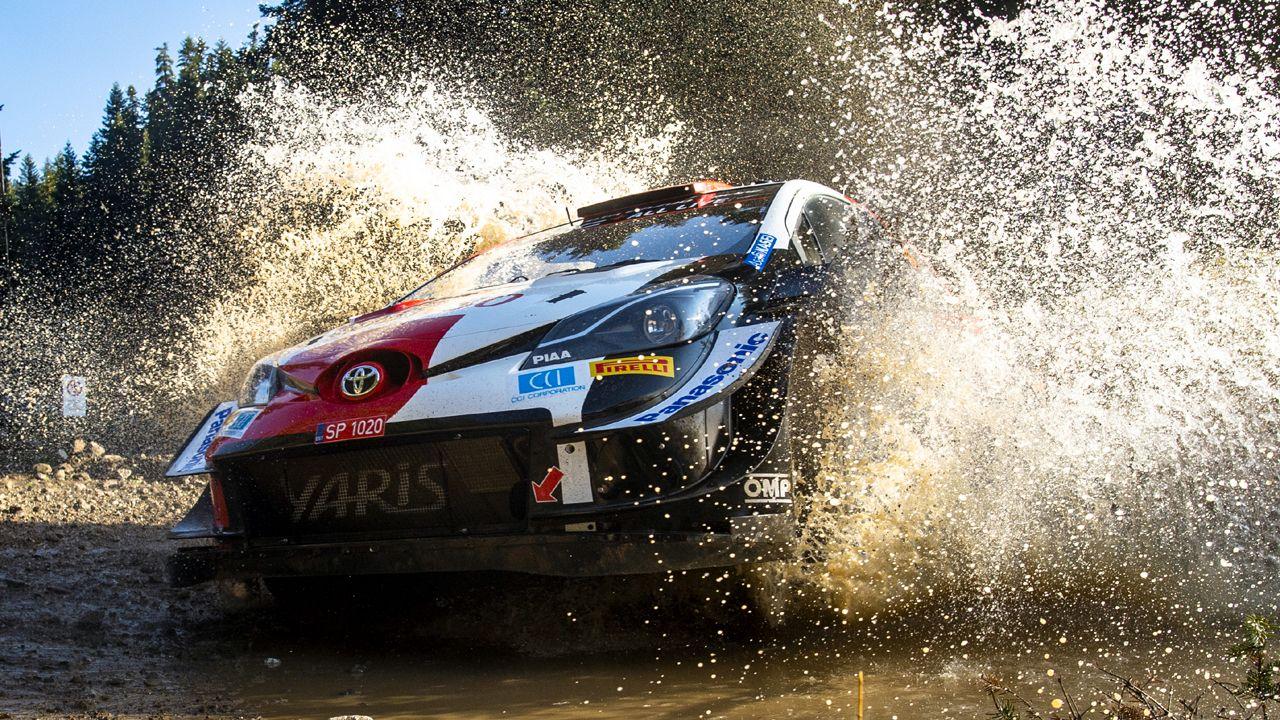 Kalle Rovanpera Toyota Gazoo Racing Rally Greece