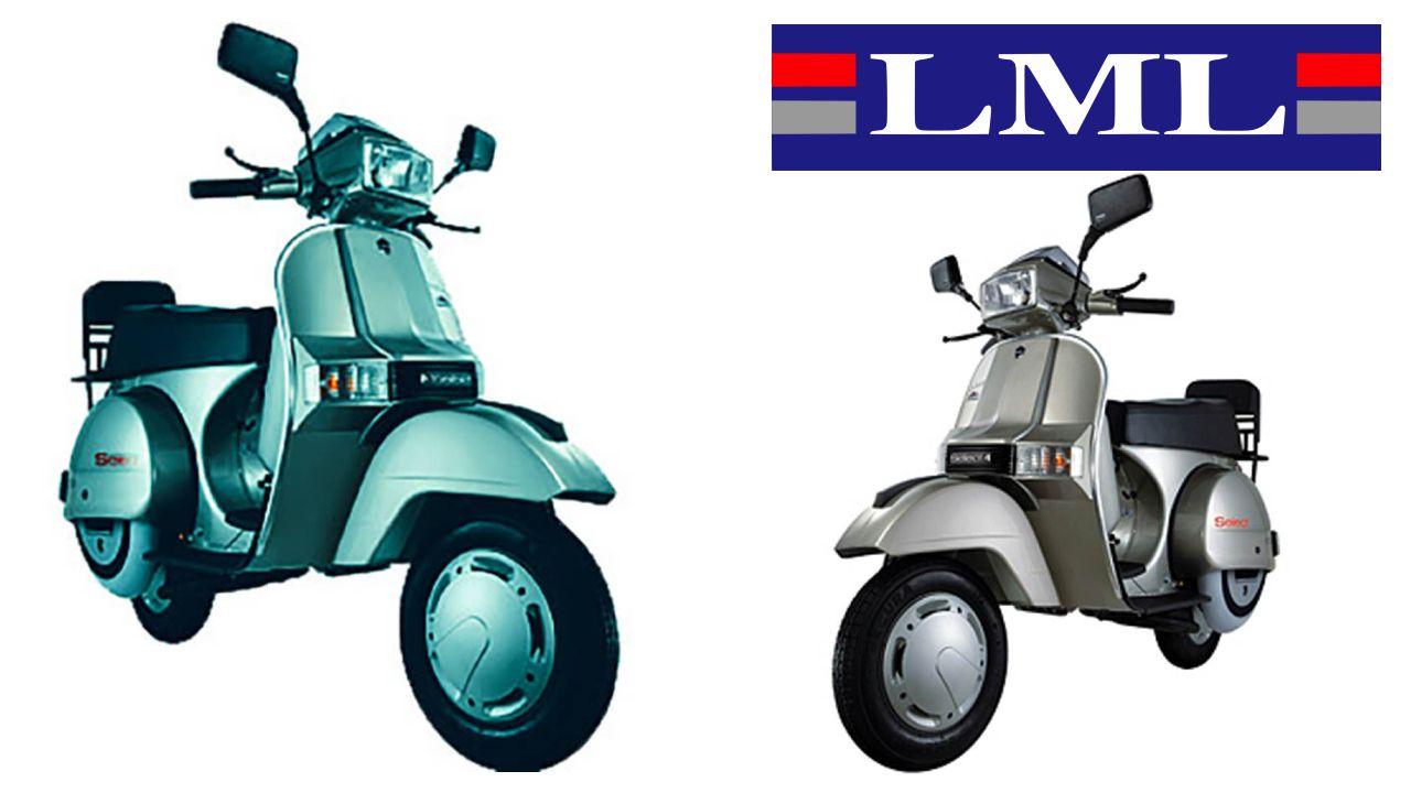 LML Scooters Three Quarter