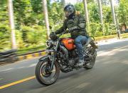 Yamaha FZ X Front Quarter Motion2