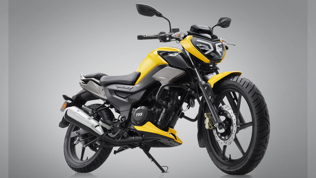 Tvs Raider 125 Launched