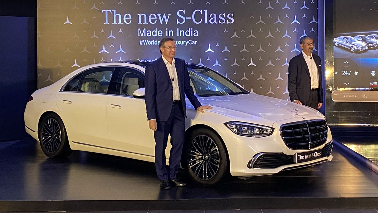 2021 Mercedes Benz S Class CKD Launched