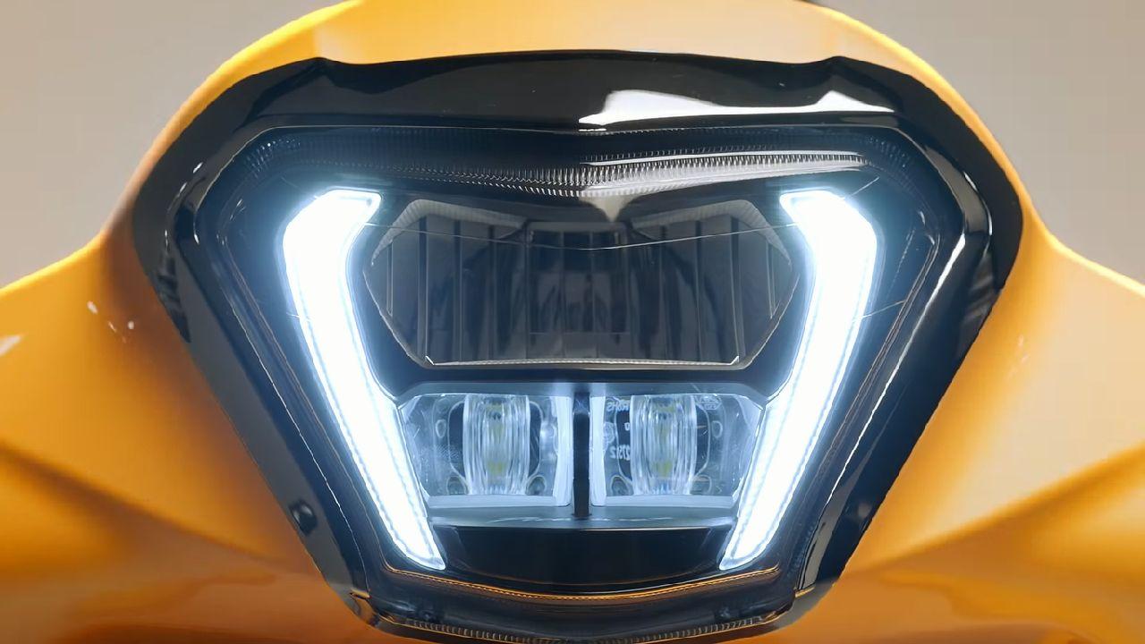 Hero Pleasure XTEC Headlamp Details