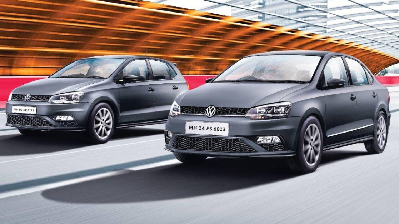 Volkswagen Polo And Vento Matte Edition Three Quarter