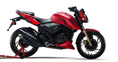 TVS Apache RTR 200 4V Price in India - TVS Offers 2 Shine models in India
