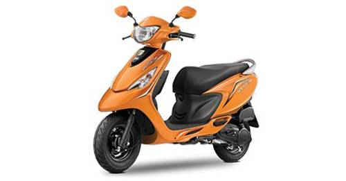 TVS Scooty Zest 110 Model Image