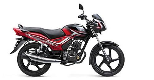 TVS Star City Plus Model Image