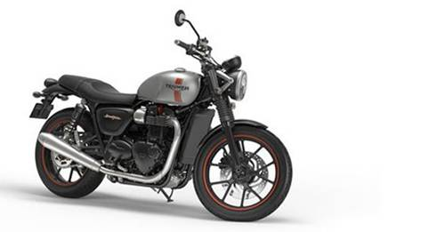 Triumph Street Twin [2018] Model Image