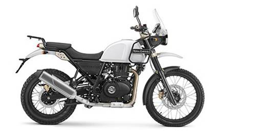 Royal Enfield Himalayan Model Image