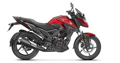 Honda X-Blade Colours - View Honda X-Blade colours available in Indian market at autoX