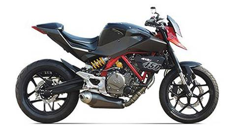 Hyosung GD450 Model Image