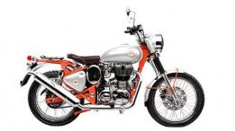 Royal Enfield Bullet Trials 350 Ground Clearance.