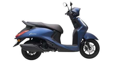 Yamaha Fascino 125 Model Image