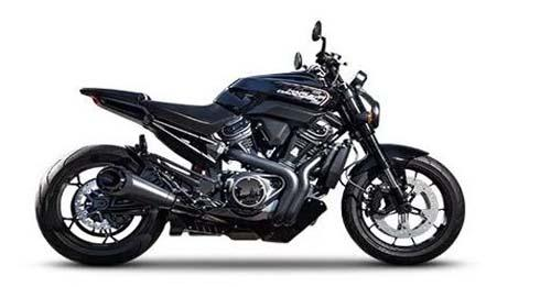 Harley-Davidson Streetfighter 975 Model Image