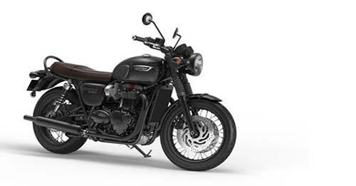 Triumph Bonneville T120 Black Model Image