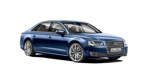 Compare Audi A8 L Kerb Weight with similar cars