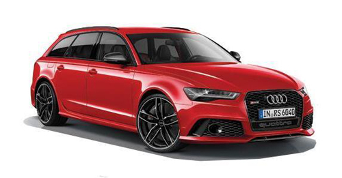 Audi RS6 Boot Space Capacity