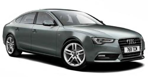 Audi S5 Sportback 2017 Model Image
