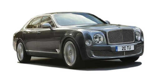 Compare Bentley Mulsanne Kerb Weight with similar cars
