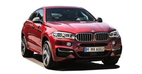 Compare BMW X6 Ground Clearance with similar cars