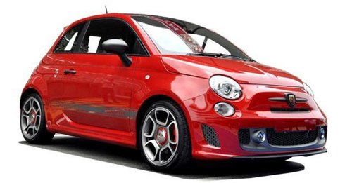 Fiat Abarth 595 Model Image