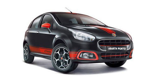 Fiat Abarth Punto Colours